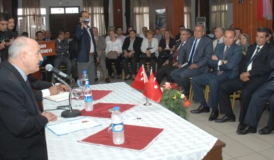Ceyhan'da Kaymakam Gürbüz, Başkan Sözlü düellosu