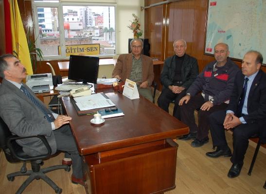 Demirçalı'dan sendikalara Öğretmenler Günü ziyareti