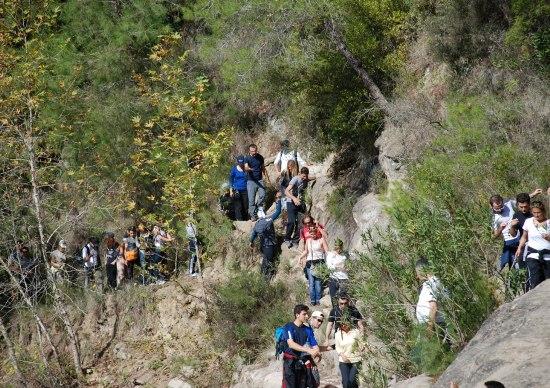 Doğacıların yeni parkuru Hacılı Köyü