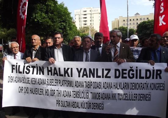 Filistin'e Adana'dan destek
