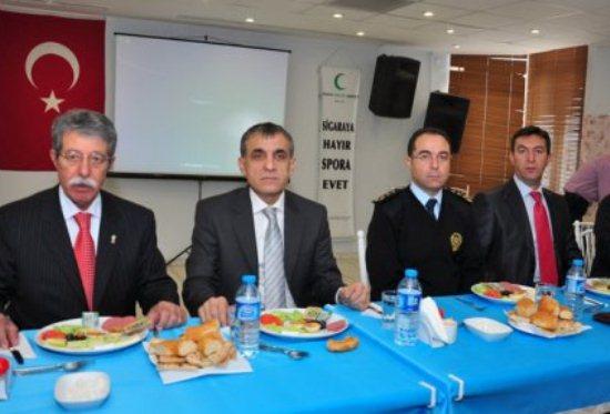 Gürkan, esnaftan suçlularla mücadelede işbirliği istedi