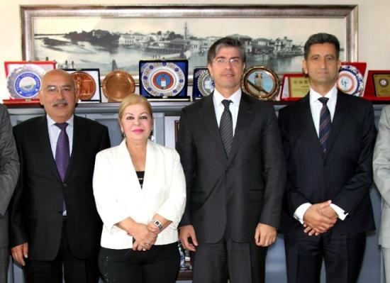 GÜSİDER'den Aksoy'a ziyaret