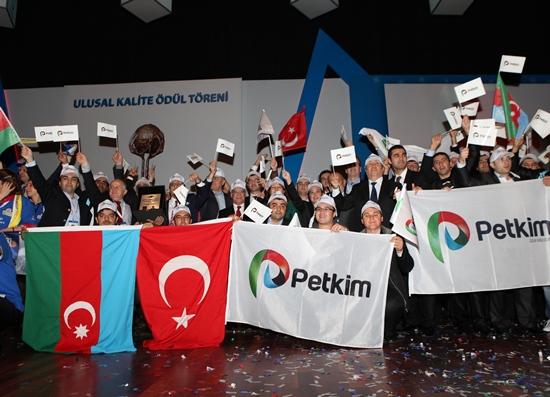 Ulusal Kalite Başarı Ödülü PETKİM'in