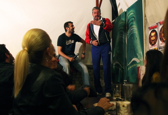 Rıza ile Azer'den kahkaha tufanı