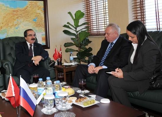 Rusya Büyükelçisi Adana'da