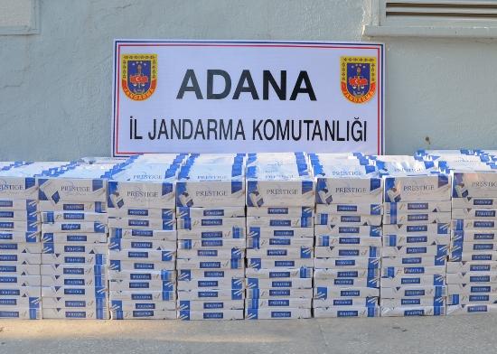 471 bin paket kaçak sigara