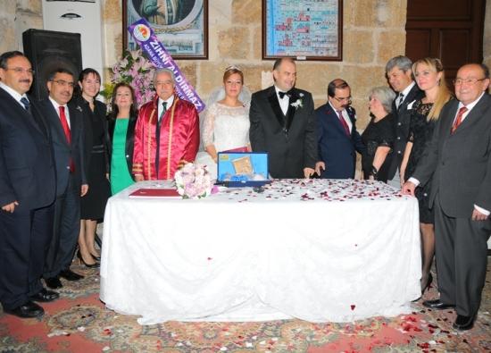 Ramazanoğlu Konağı nikah törenine sahne oldu
