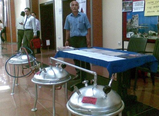 Hidrojen gazı üretimine hazırlık