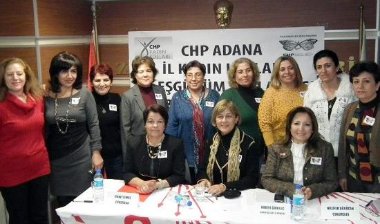 CHP'li kadınların eşgüdüm toplantısı