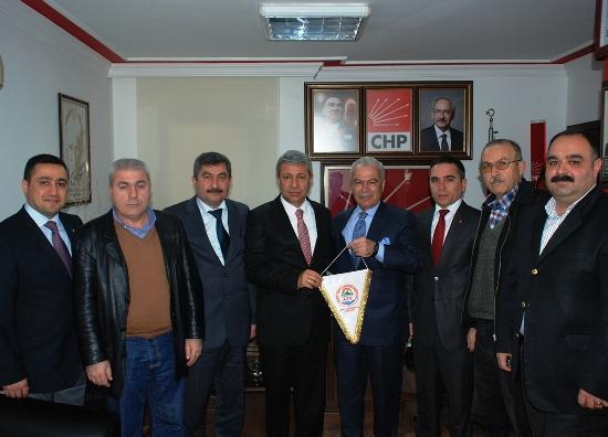 ATF'den, CHP ziyareti
