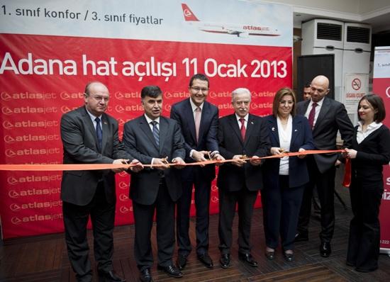 Atlasjet Adana'ya 3 seferle başlıyor