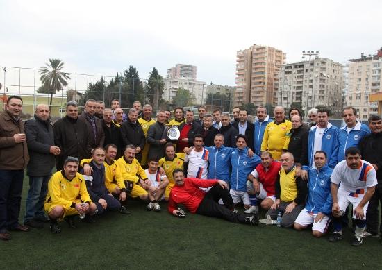ATO-İTO dostluğu futbolla pekişti