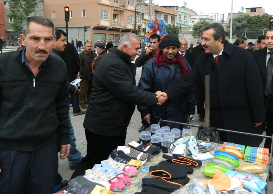 CHP'li Çetin Bit Pazarında