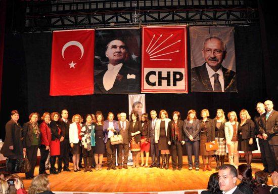 CHP kadınlarla iktidara yürüyecek