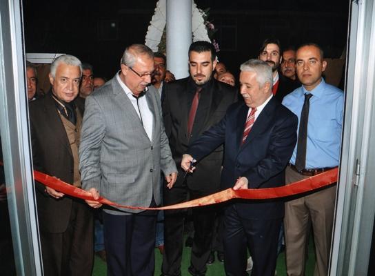 Çukurova Başkanı Yüreğir'de açılış yaptı!