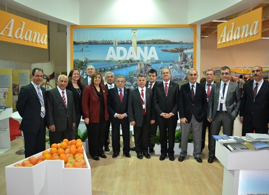 Adana EMİTT Fuarında