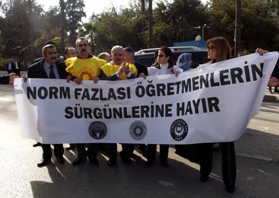 Adana'da öğretmenlere norm sürgünü