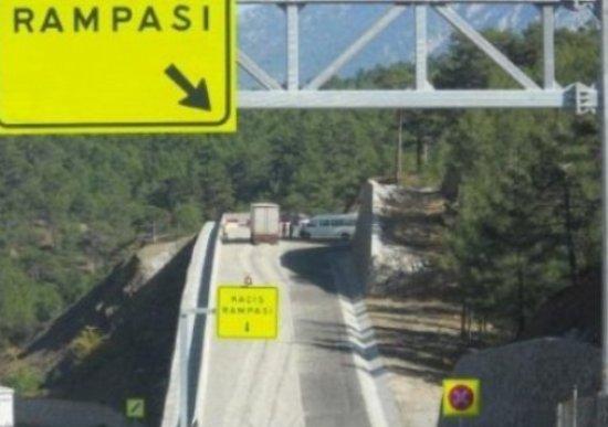 Bu rampa kazaları önlüyor