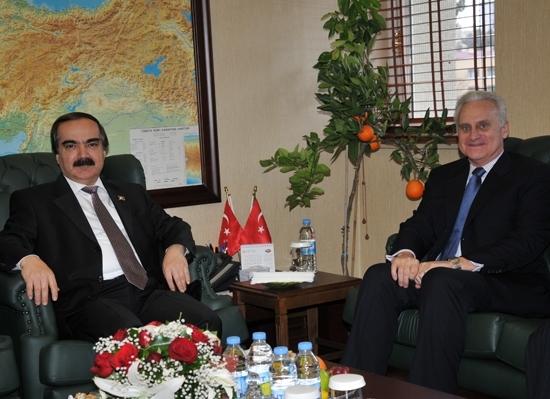 ABD Büyükelçisi Adana'da