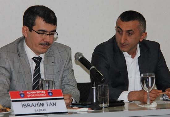 Aziz Akkaya Adana BOTAŞ'ta
