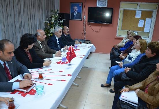 Arıkan ve Meclis Üyeleri CHP Çukurova'da