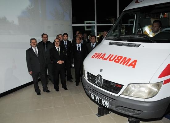 Ambulans şöförlerine özel eğitim