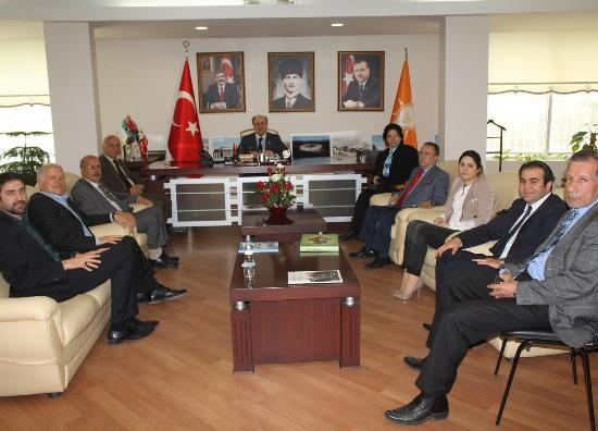 CHP'den Ak Parti ziyareti