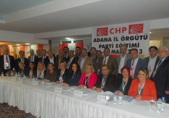 'CHP Örgütleri eğitimde