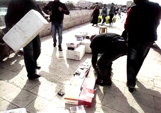 Taşköprü'de zabıta operasyonu