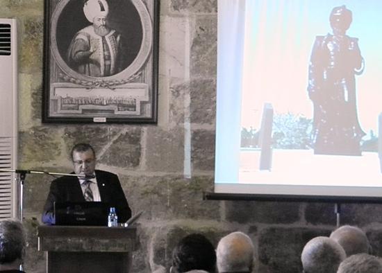 600 yıllık binada Mimar Sinan'ı anlattı