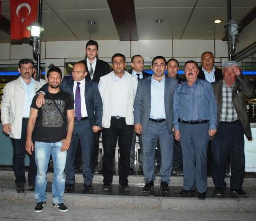 Güreşçilerin Başkanı Yerlikaya Ceyhan'da