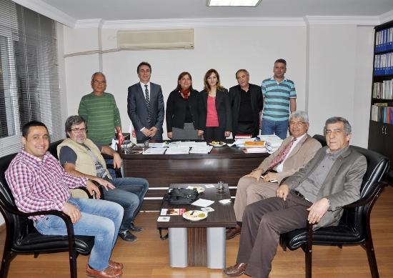 Türkmen'den Haritacılara ziyaret
