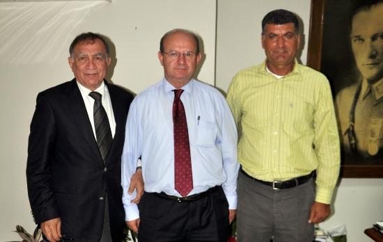 Akay'dan, ÇGC Başkanına ziyaret