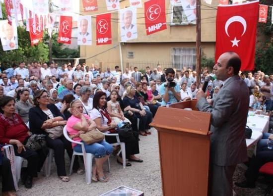 Erdoğan MHP'den  Çukurova Aday Adayı oldu