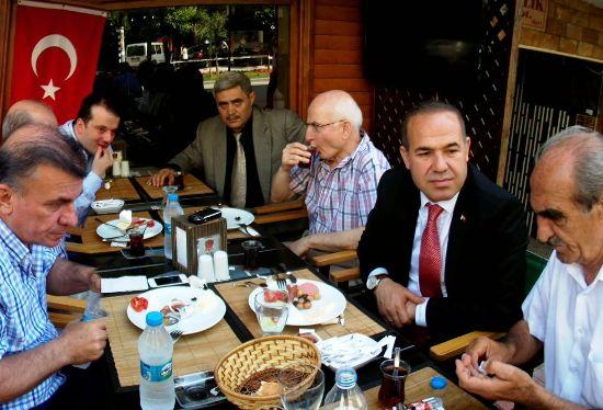 Adana'da Ceyhanlılarla Buluştu