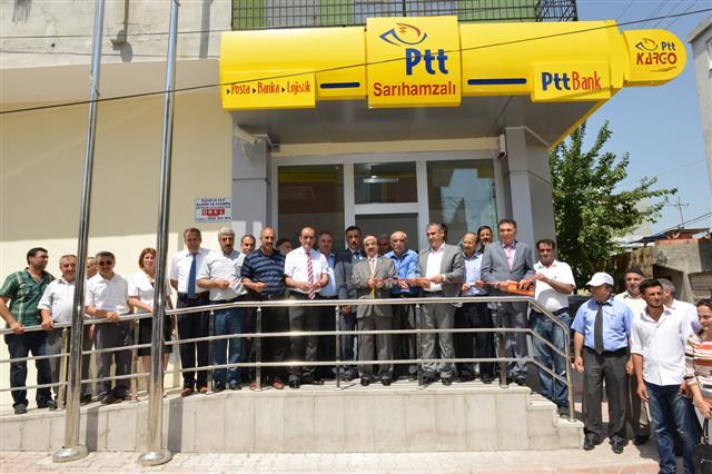 Sarıhamsalı'da PTT Şubesi açıldı