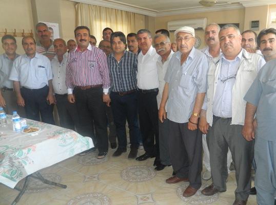 CHP'li Çetin Barkal Dolmuşçularından destek istedi