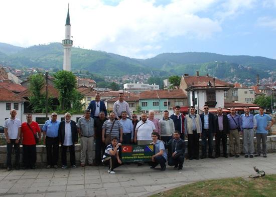Bosna Hersek' e  Gittiler
