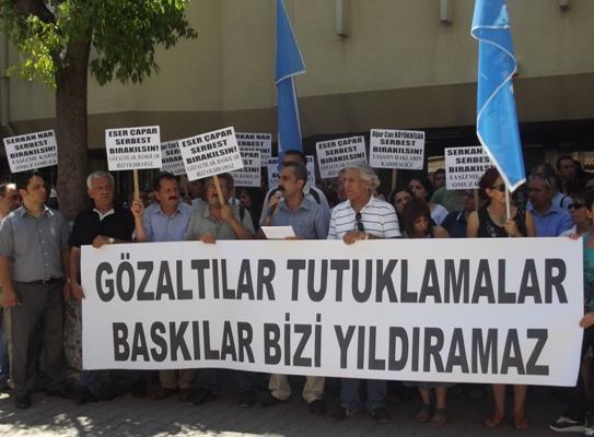 Adana'da 22 kişiye gözaltı iddiası