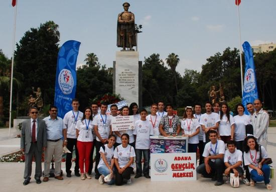 Atatürk Parkında stant açtılar