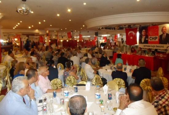 CHP Seyhan'da Danışma Kurulunu Topladı
