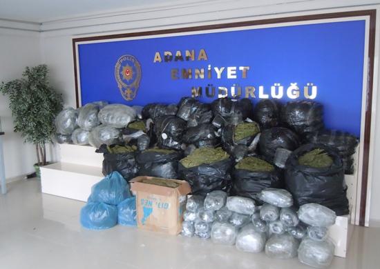 Esrar ve Eroin operasyonuna 20 tutuklama