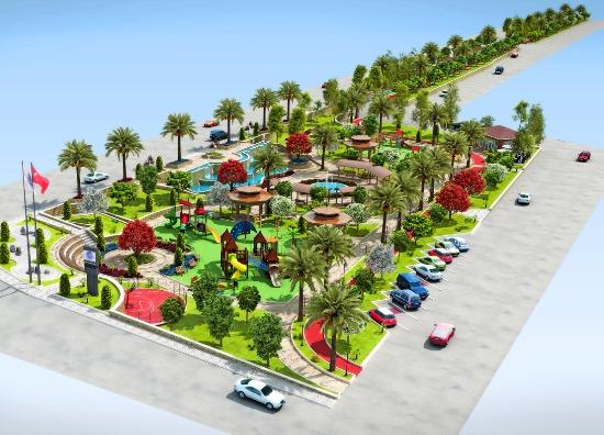 Seyhan'a engelsiz park