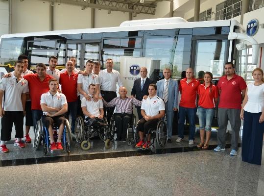 İhracat Lideri TEMSA'dan millilere Özel donanımlı otobüs