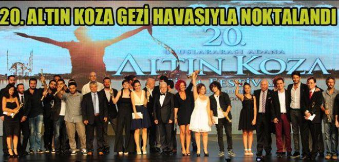 Altın Koza'da Gezi ruhu