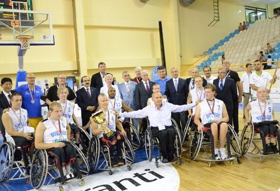 Almanya Şampiyon, Türkiye 7.