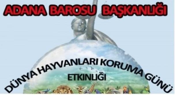Adana Barosu'ndan Hayvan Hakları Paneli
