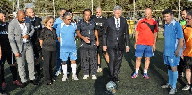Balcalı'da Futbol Turnuvası