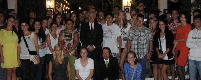 8 Ülkeden 48 Öğrenci Eresmus Eğitiminde