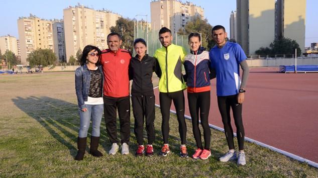 Madalyalı Atlet Şampiyonaya Adana'da Hazırlanıyor